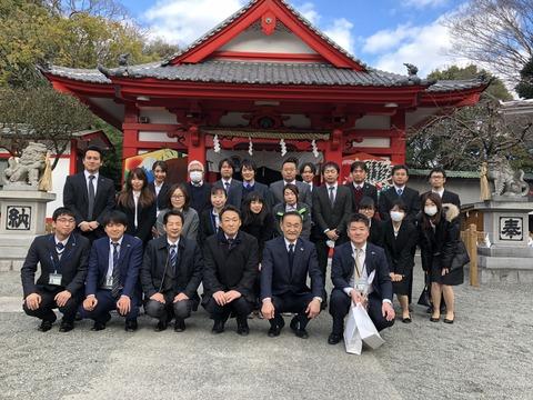 米之宮浅間神社に参詣!